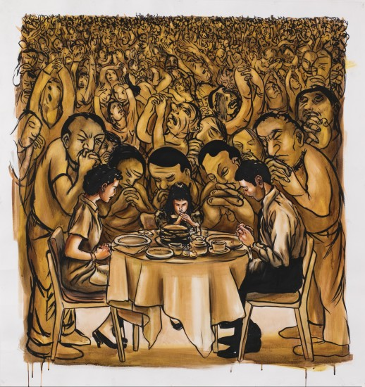 <p>Nicole Eisenman<br /> <i>Dinner Prayer</i>, 2000's</p>