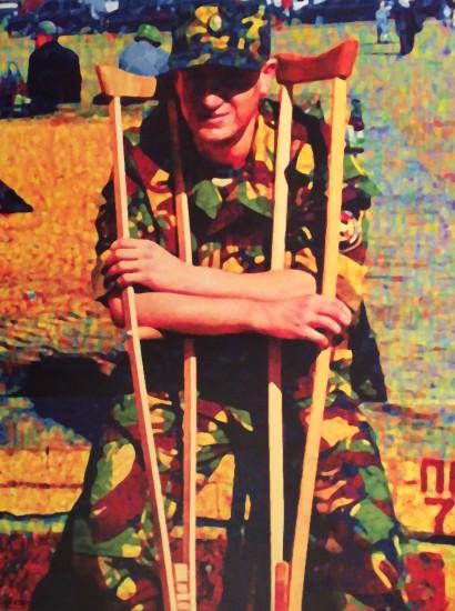 <p><span>Semyon Faibisovich</span><br /><span>War Veteran from the cycle «Kazansky V (Kazan railway station)», 2013</span></p>