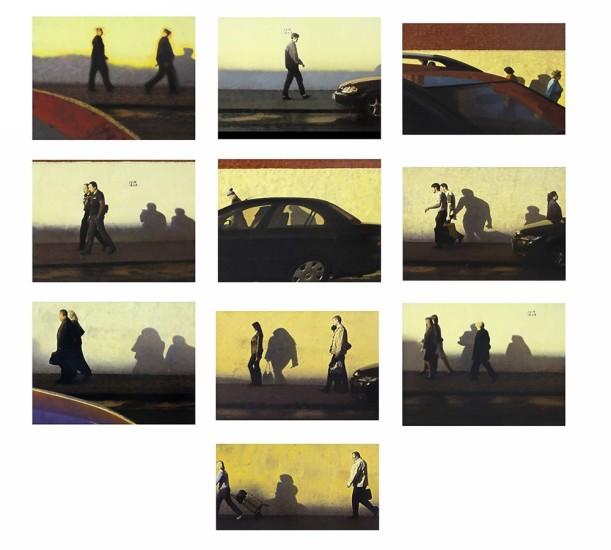 <p><span><span>Semyon Faibisovich</span></span></p><p><span>Once upon a sunset (10 parts), 2011</span></p>