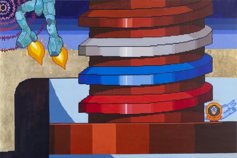 """<p><b>Наташа Стручкова</b><br /><i>#4 из серии """"Прокрастинация""""</i>, 2011</p>"""