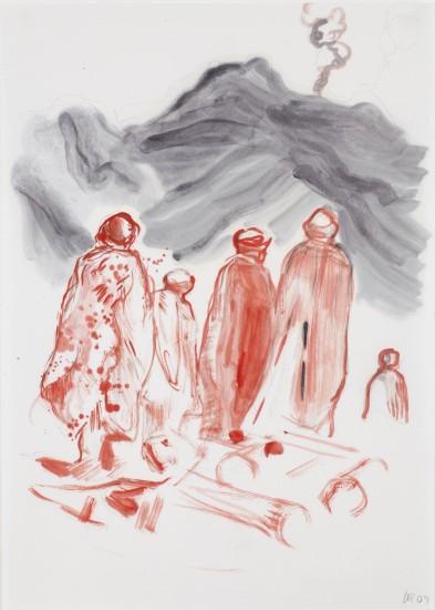 """<div class=""""artist""""><strong>Daniel Richter</strong></div><div class=""""title_and_year""""><em>ohne Titel</em>, 2009</div>"""