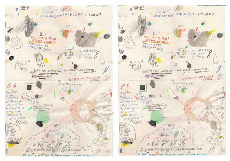 <div class=&#34;workTitle&#34;><strong><span>Marijn Van Kreij</span></strong><br /><em>Untitled (Cold blood hardcoore) #1, 2,&#160;<span>2007</span></em></div>