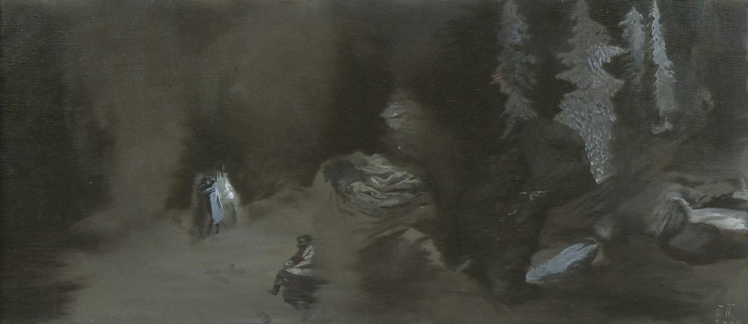 <p><strong>Pavel Pepperstein</strong></p><p><em>Riding a sorcerer, </em>2000</p>