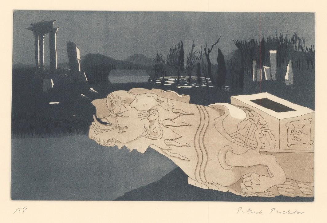 Fallen Turtle, Yuan Ming Yuan, Peking, 1980