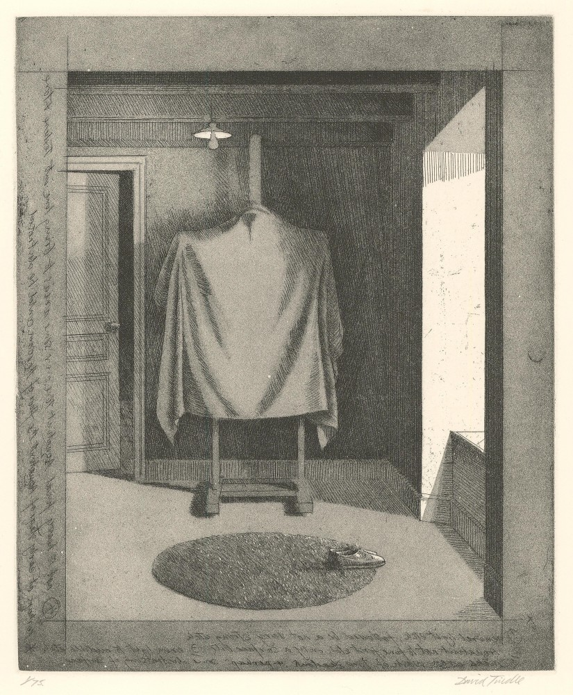 Covered Easel, 1996