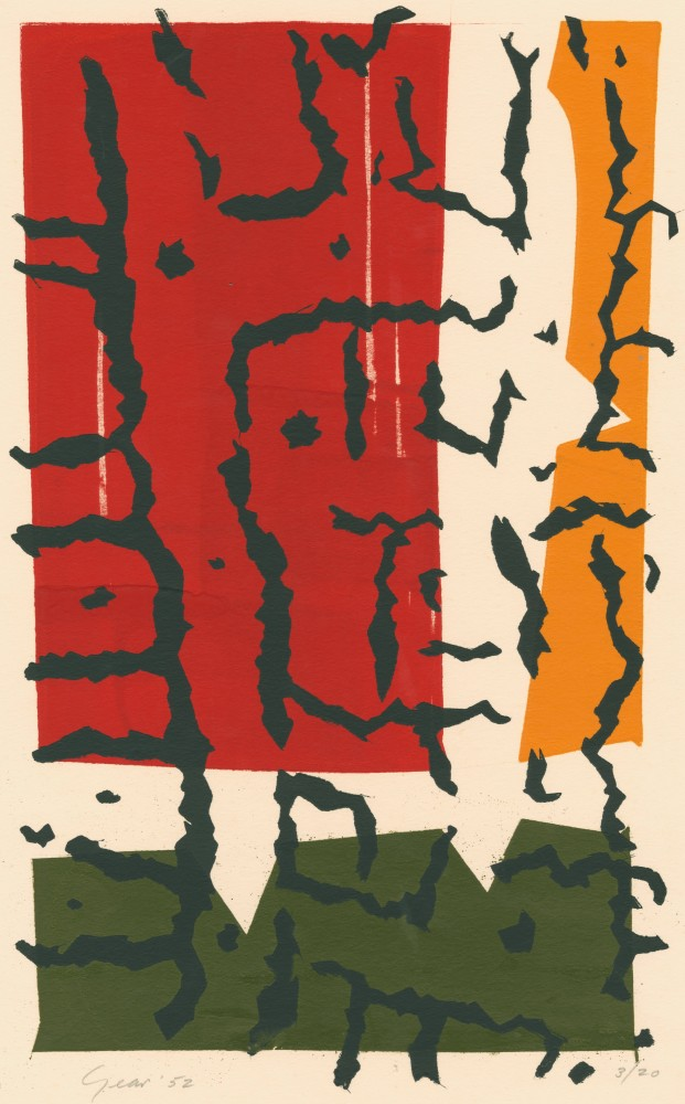 Hedgerow Trunks, 1952