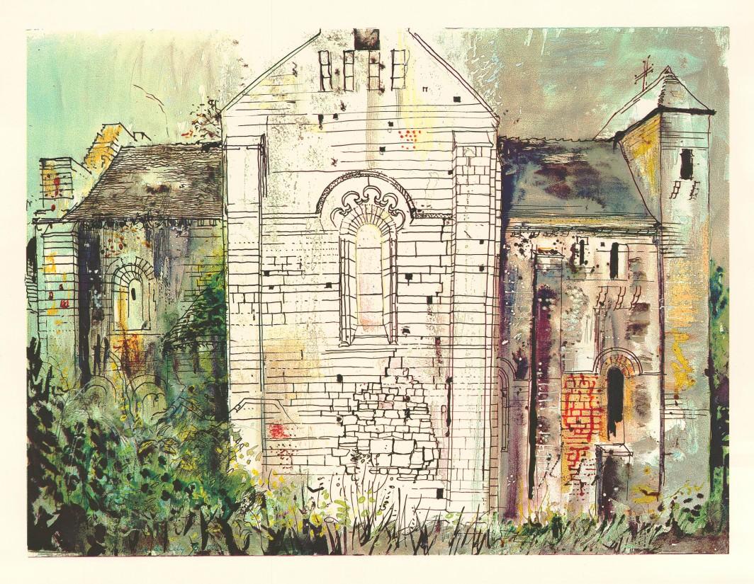 St. Amand-de-Coly, Dordogne, 1968