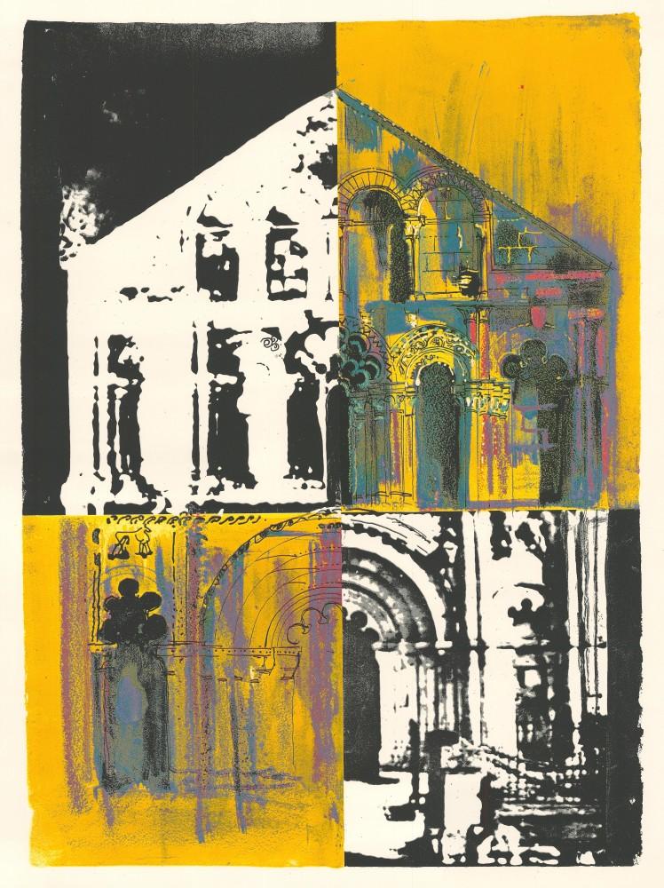 Petit Palais: White and Yellow, 1973