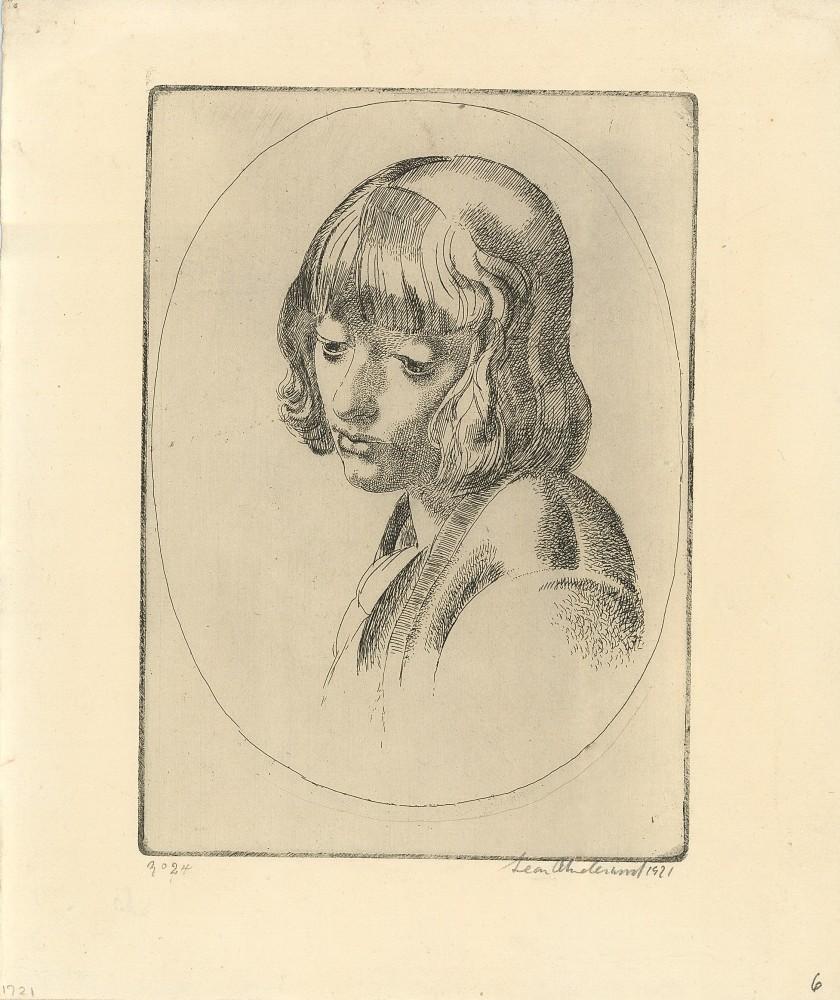 The Tulip Girl, 1921