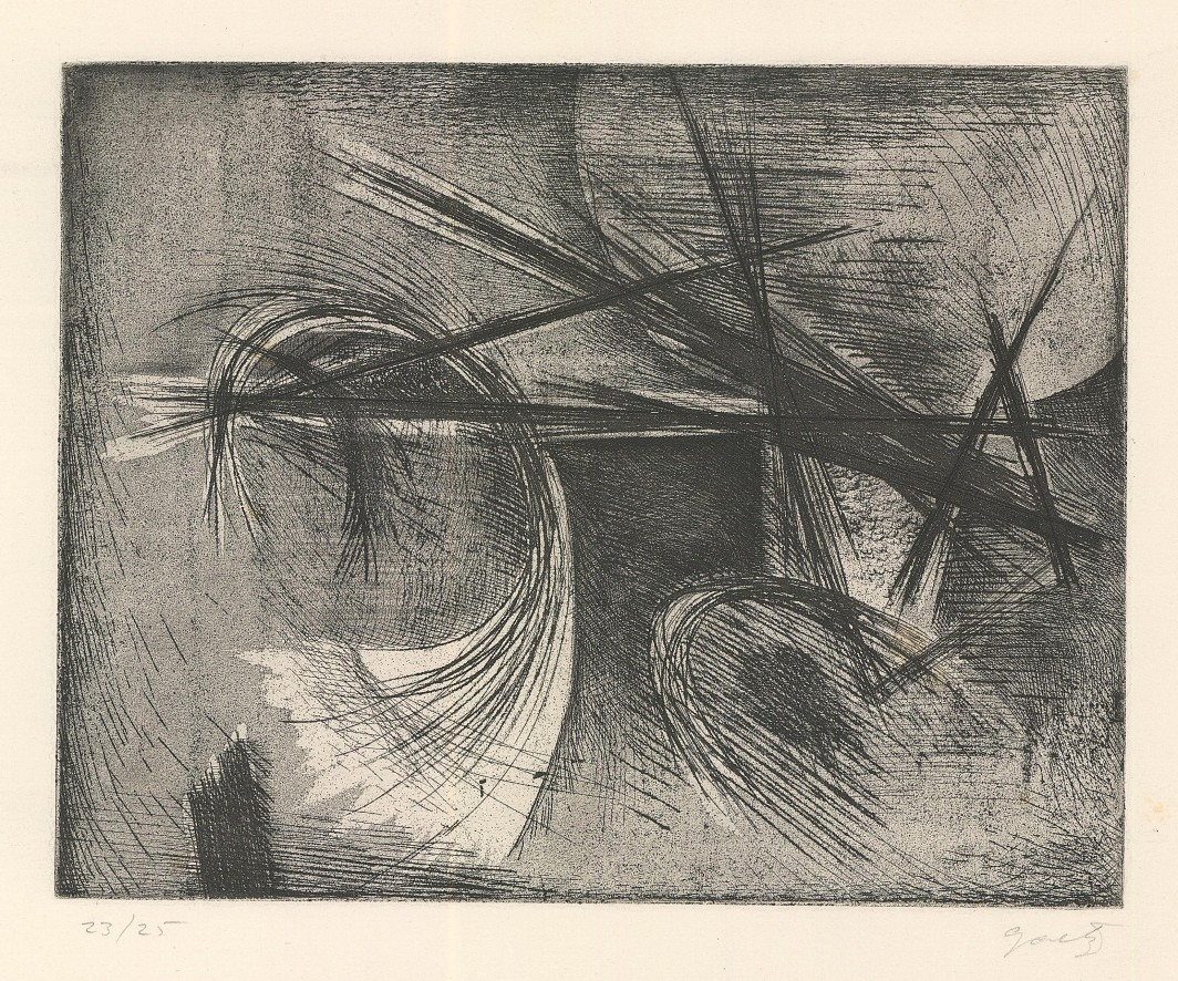 Untitled Composition, 1953