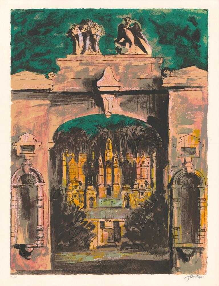 Harlaxton through the Gate, 1977