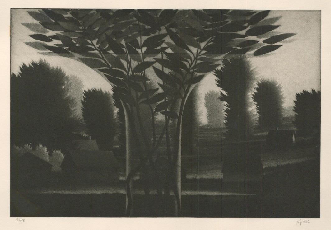 Clear Vase and Landscape, 1995