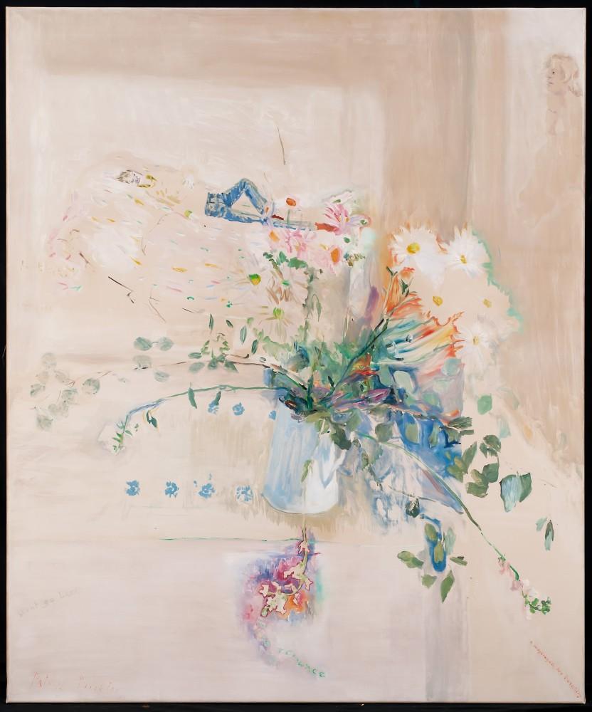Patrick Procktor, Pure Romance, oil on canvas, 121.4 x 101.6 cm