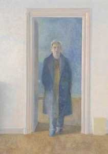 Self-Portrait, 1991, in the collection of Ferens Art Gallery