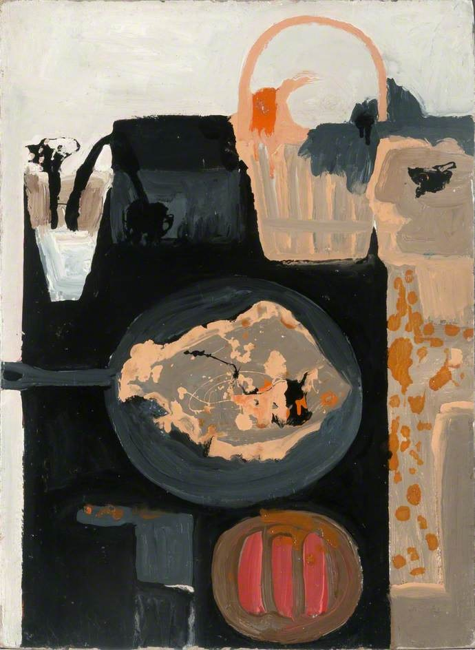 Margaret Mellis, Woman and Fish II, Jerwood Collection