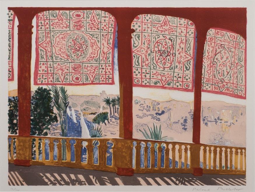 Patrick Procktor, Cataract, Aswan, 1985