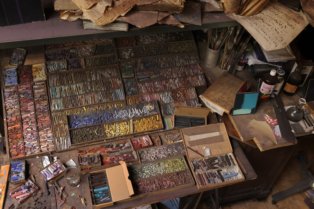 Pierre Skira's atelier