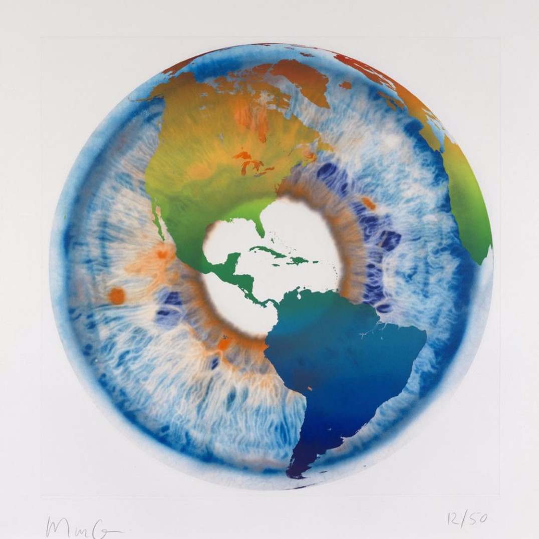 Marc Quinn, Eye of History Etching I