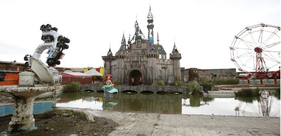 Banksy's Dismaland Opens Featuring A Number Of Artists From Our Gallery Roster