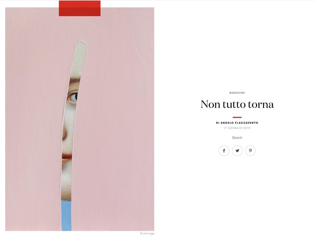 Lino Lago in Italian Vogue