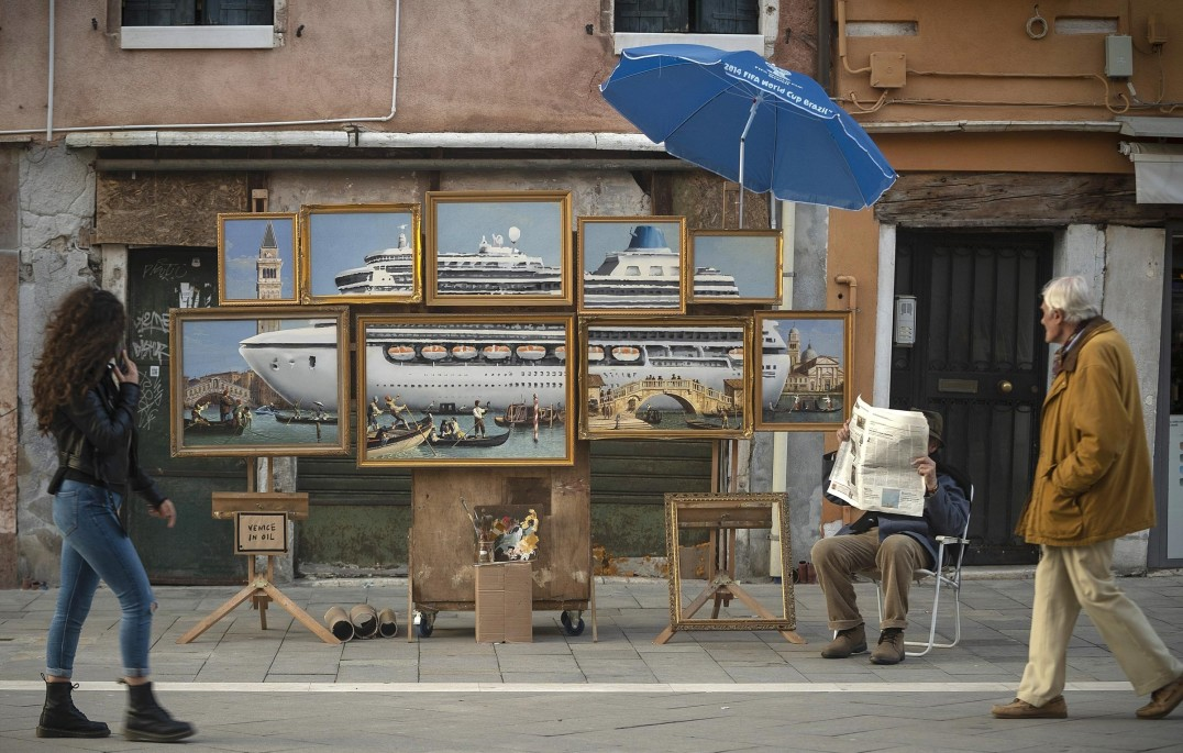 Banksy at the Venice Biennial