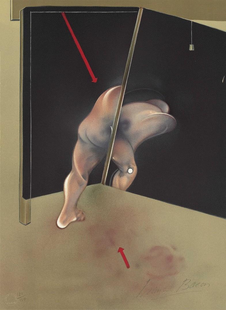 "Francis Bacon at Pompidou: ""Bacon en toutes lettres"""