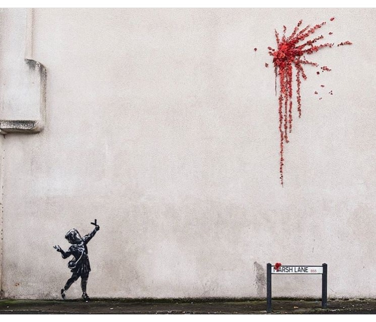 Potential New Banksy Work Ready for Valentine's Day