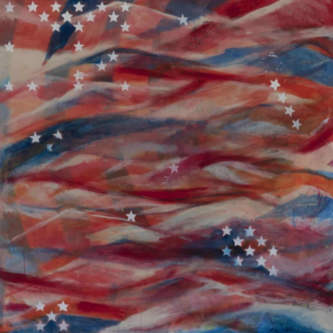 Camilla Webster, Stars and Stripes (original), 2018