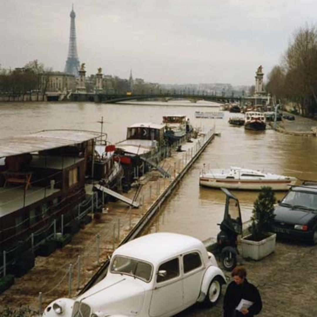 Dorothy Bohm, The Seine, near Cours-la-Reine, Paris, 1988