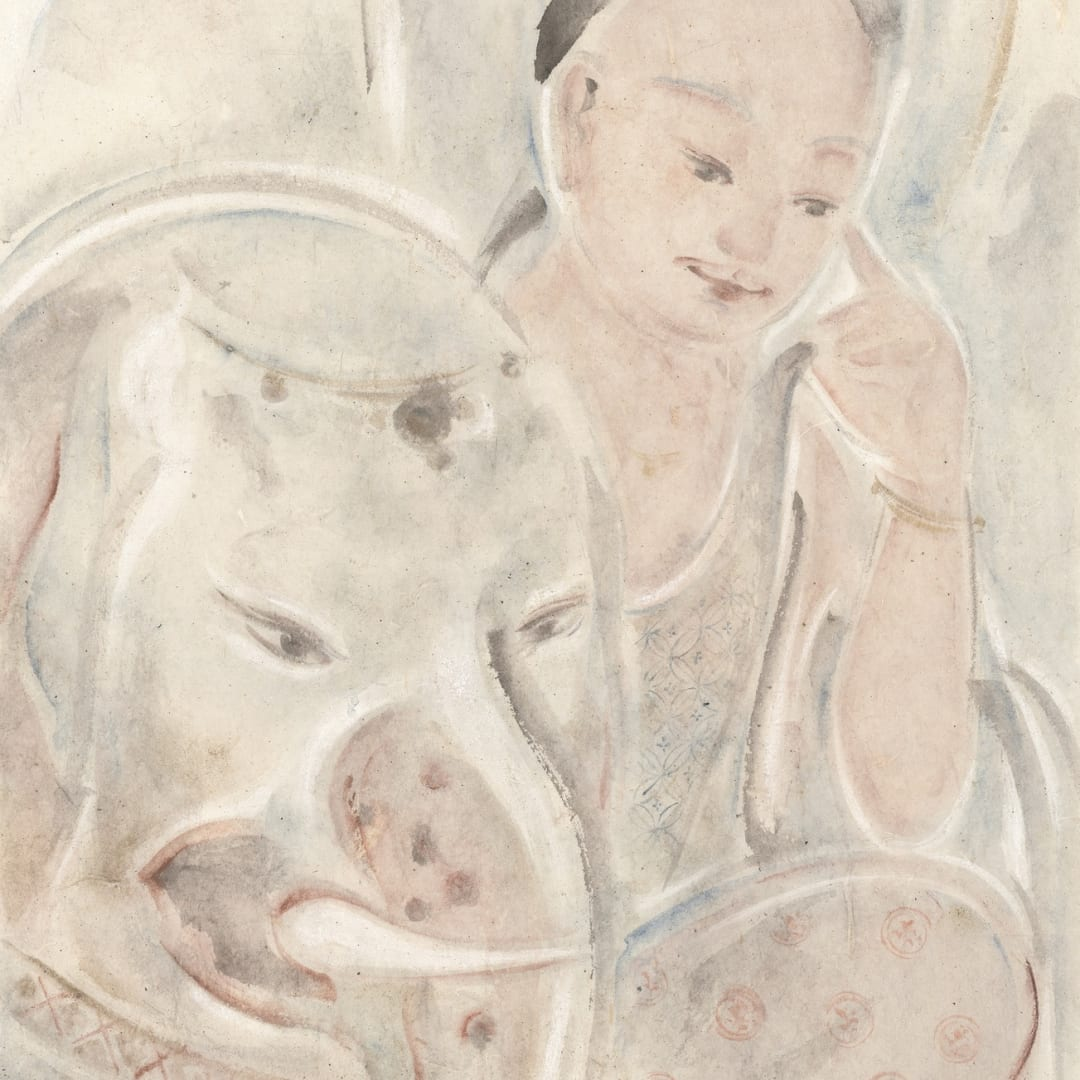 Pan Wenxun 潘汶汛, White Elephant 白象, 2014