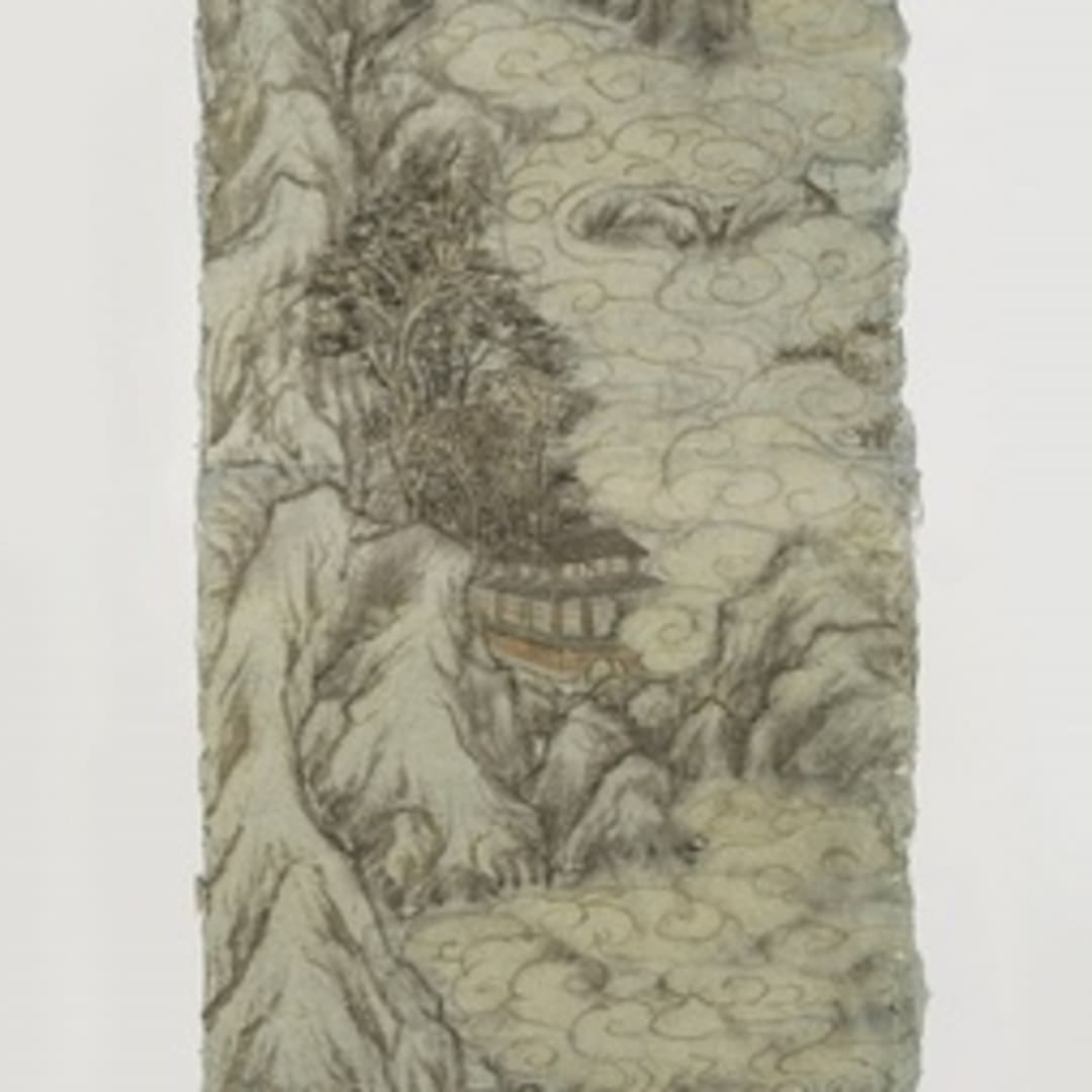 Peng Wei 彭薇, Winter Convention (Scroll) 冬日的约定 (卷軸), 2013