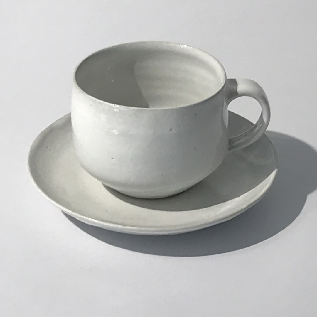 Lucie Rie, Cup and Saucer