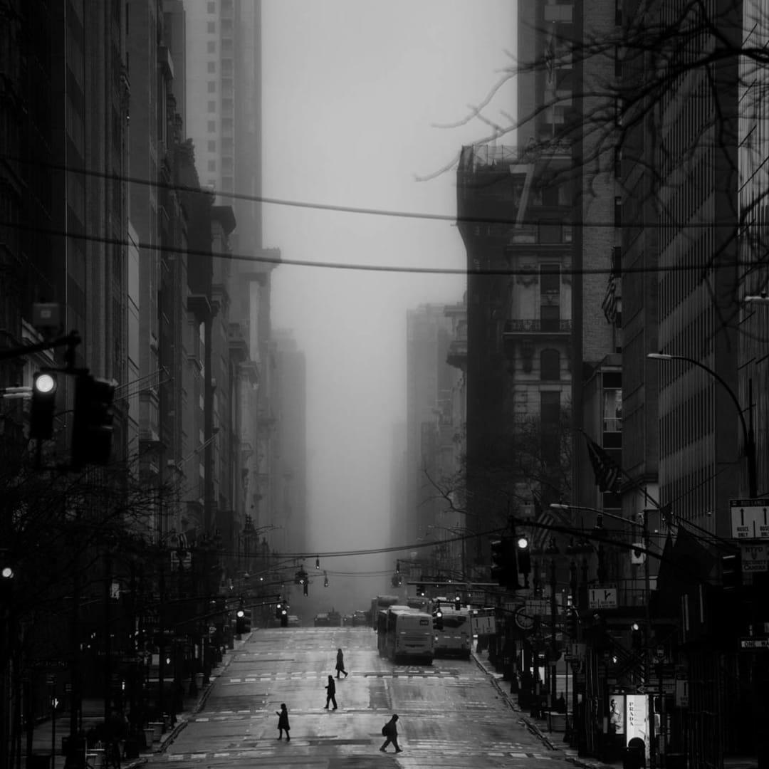 PHIL PENMAN, 5th Avenue , New York, 2020