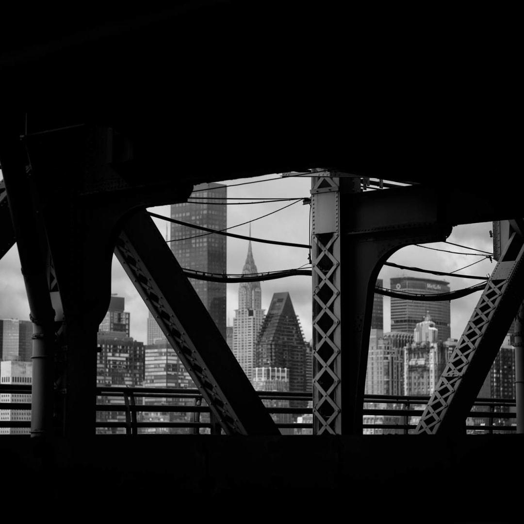 PHIL PENMAN, 59th Street Bridge,, New York, 2015