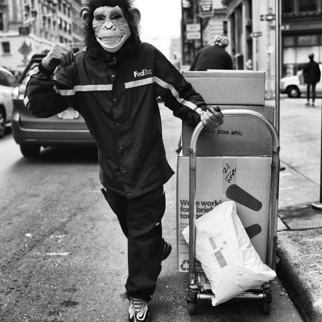 PHIL PENMAN, Fedex Man, New York, 2014