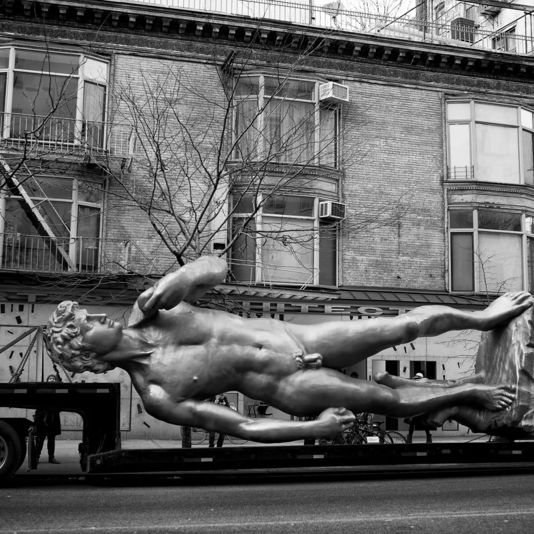 PHIL PENMAN, David in Soho, New York, 2015