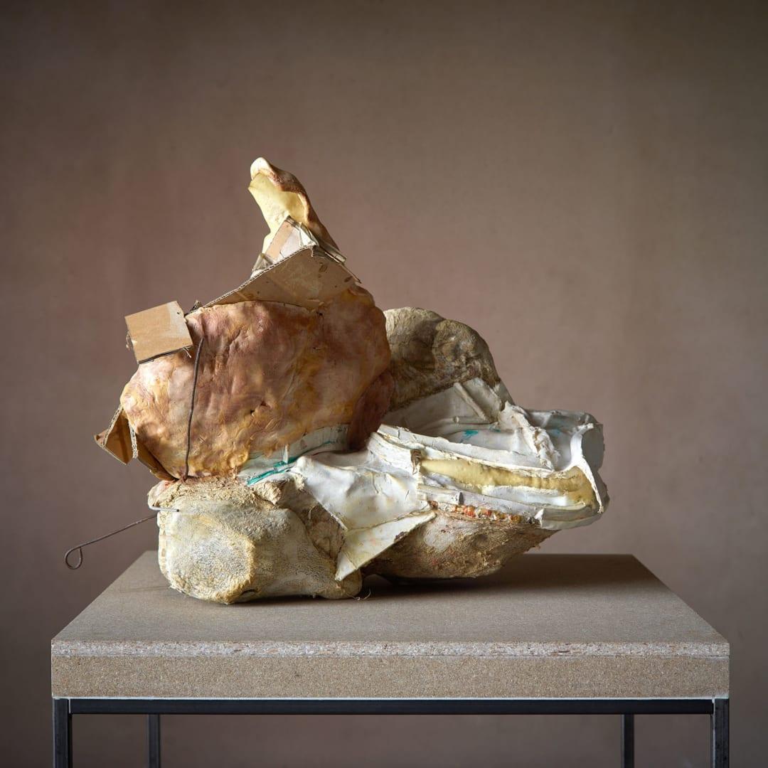 Peter Buggenhout (°Dendermonde, 1963), 'Mont Ventoux #17', Mixed media, 61 x 78 x 69 cm, © Peter Buggenhout, Courtesy of Axel Vervoordt Gallery