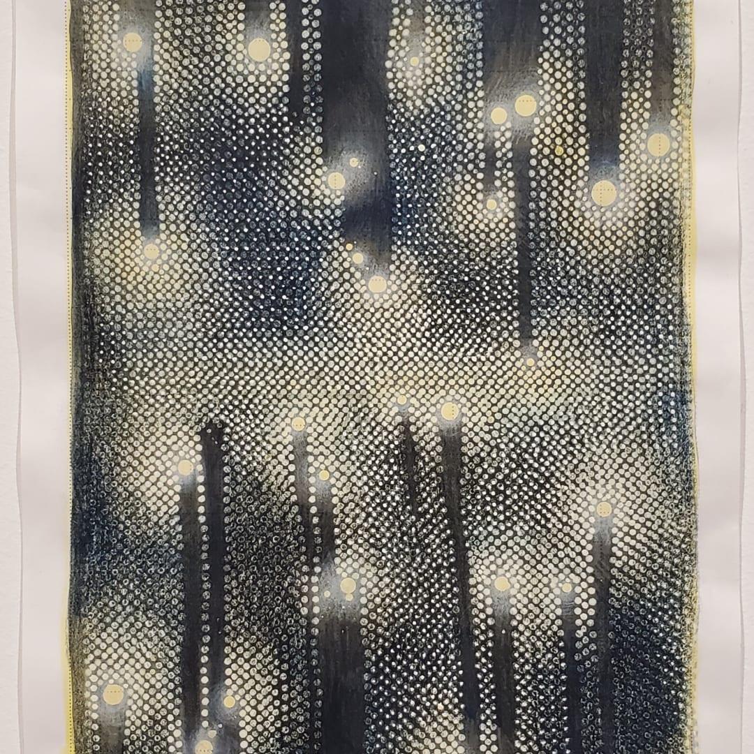 Linn Meyers, 'Untitled', 2020, Ink on graph paper, 11 x 8.5 in, © Linn Meyers