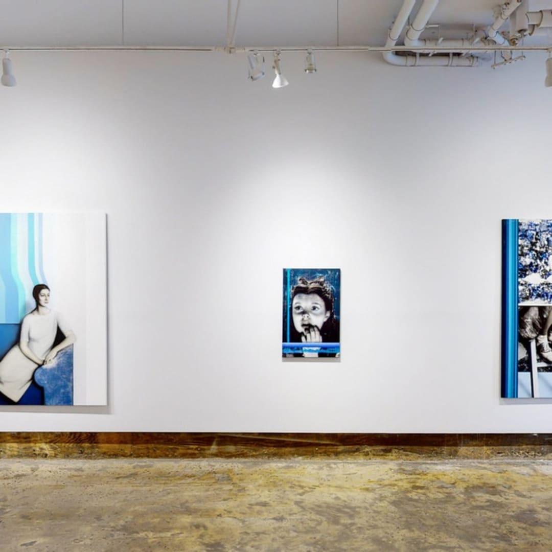 Installation view of 'Scapes', Slag Contemporary, New York, 2021 Image courtesy of Slag Contemporary