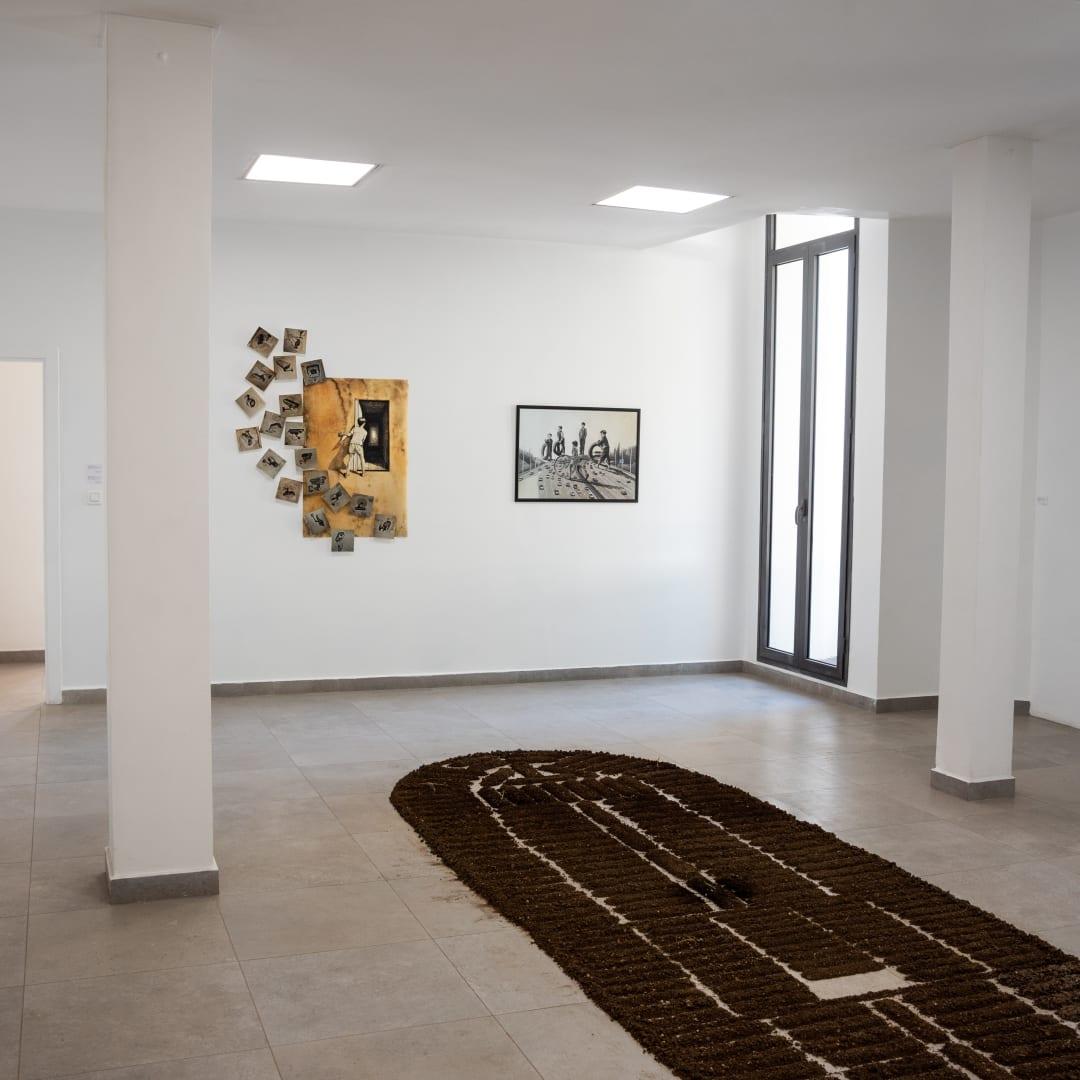 Vue de la galerie à Dakar, 2020