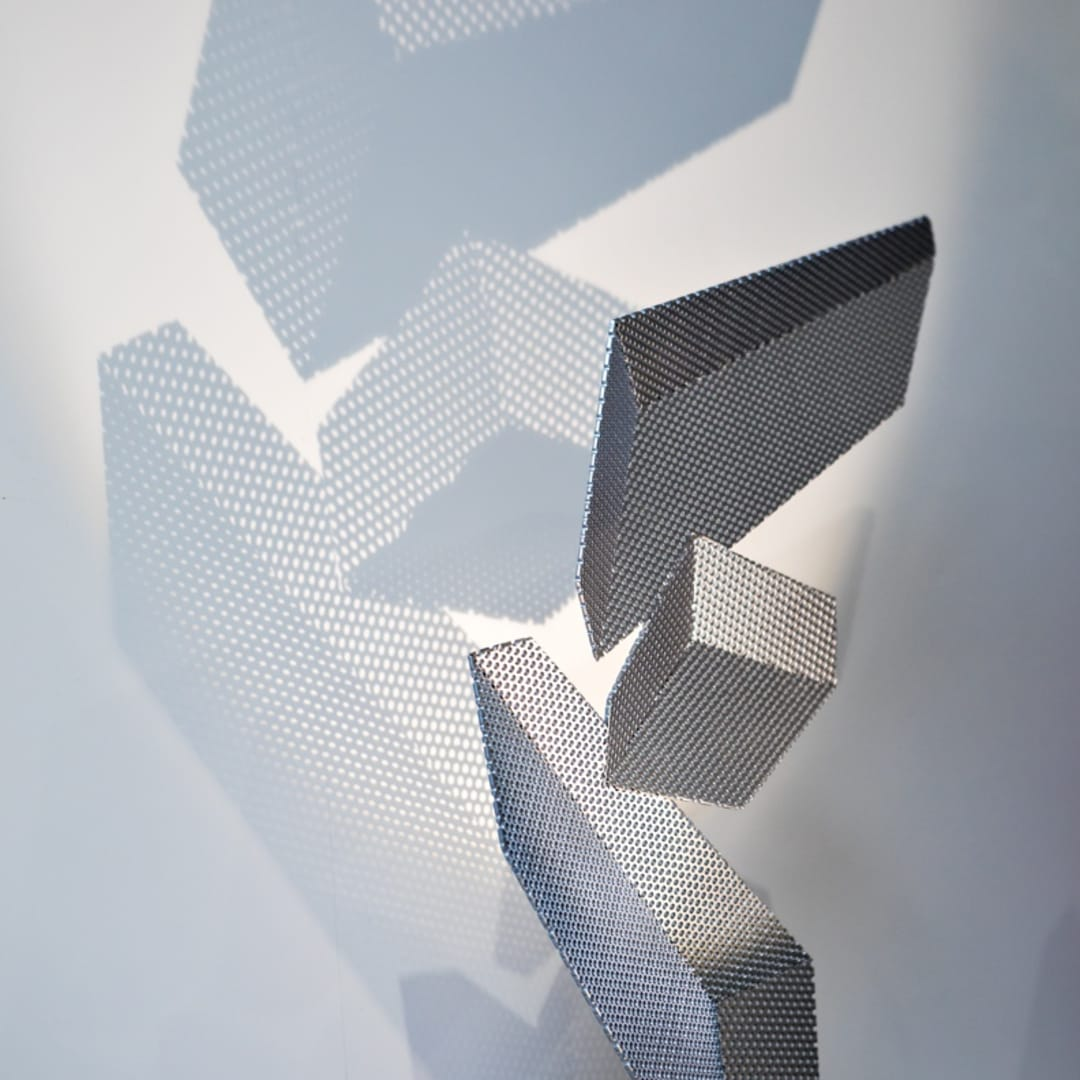 Some of the artist's works convey light forms. PHOTOS: SONYA REVELL