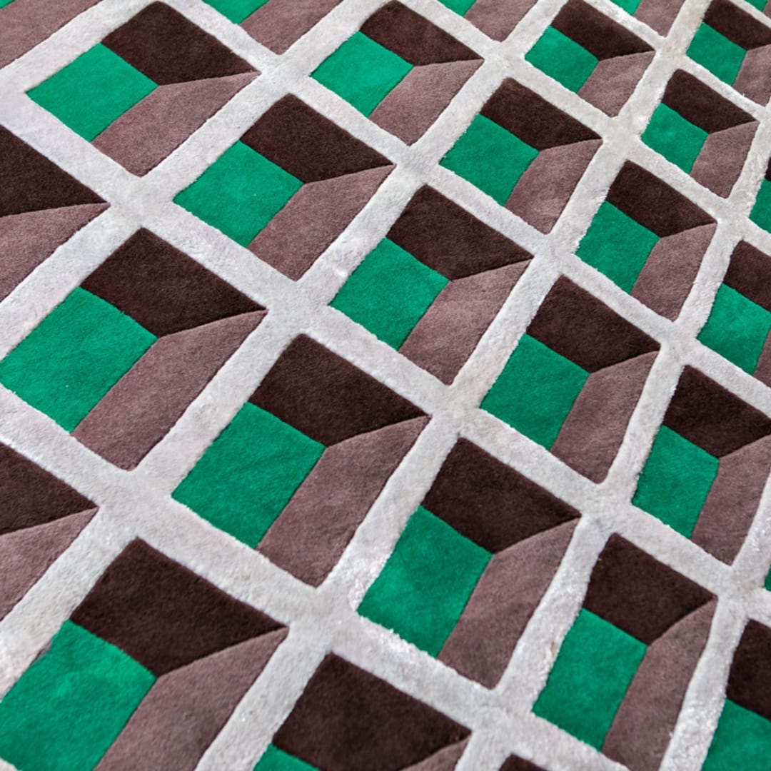 Barrios has also ventured into designing rugs. PHOTOS: SONYA REVELL
