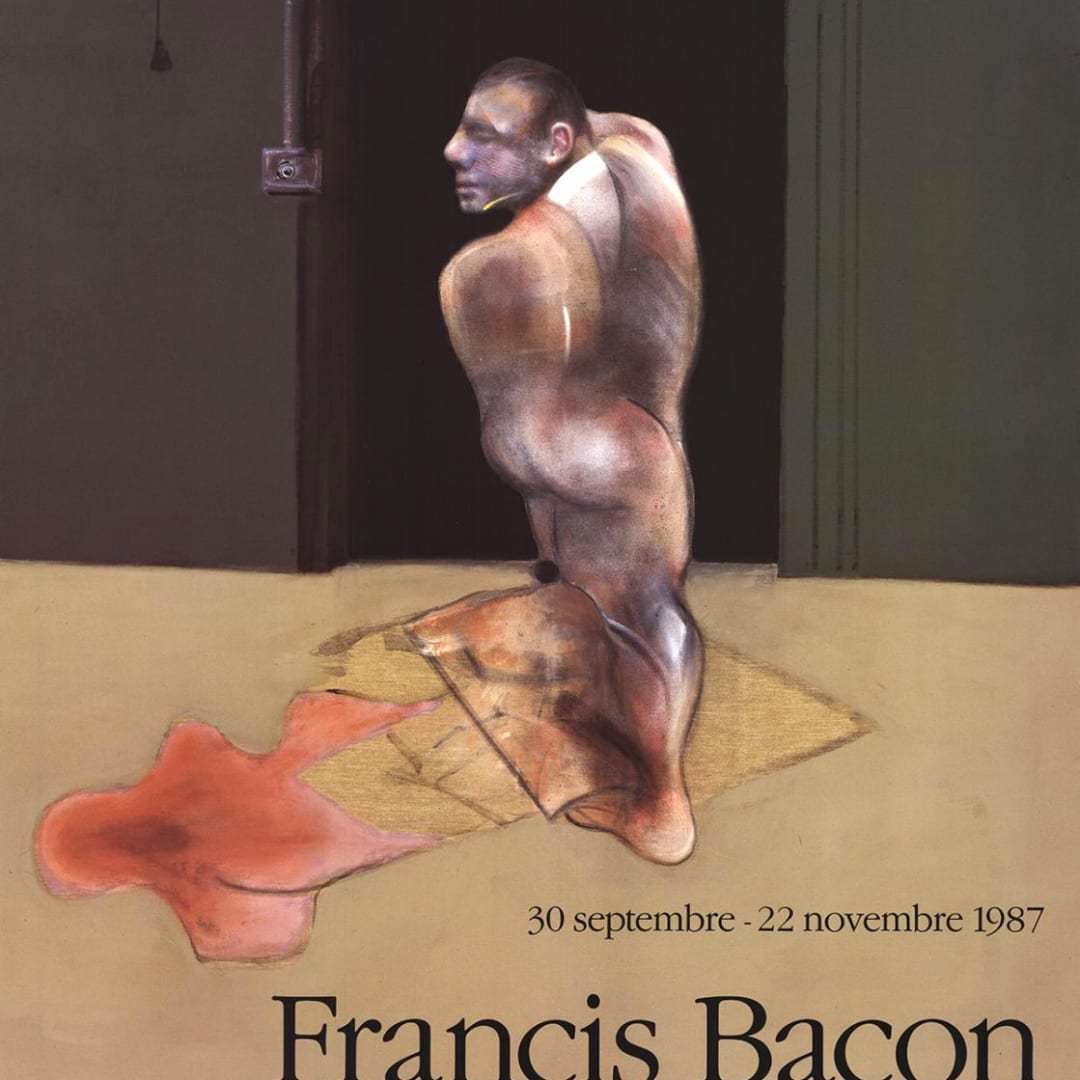 Francis Bacon, Galerie Lelong Exhibition Poster, 1987