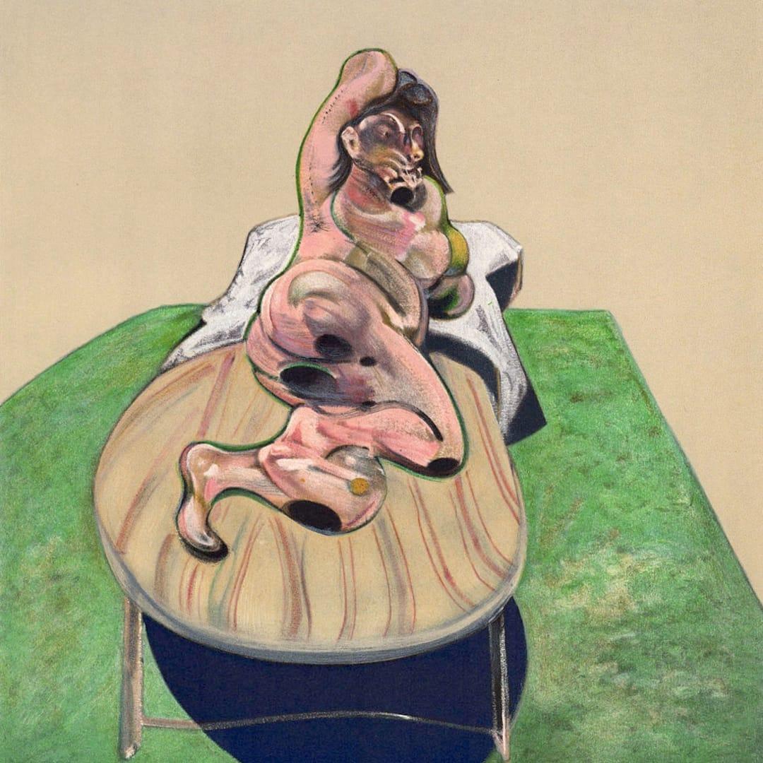 Francis Bacon, Henrietta Moraes, 1966