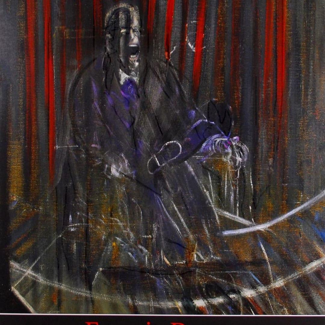 Francis Bacon, Papes et Autre Figures - Galerie Lelong Exhibition Poster, 2000