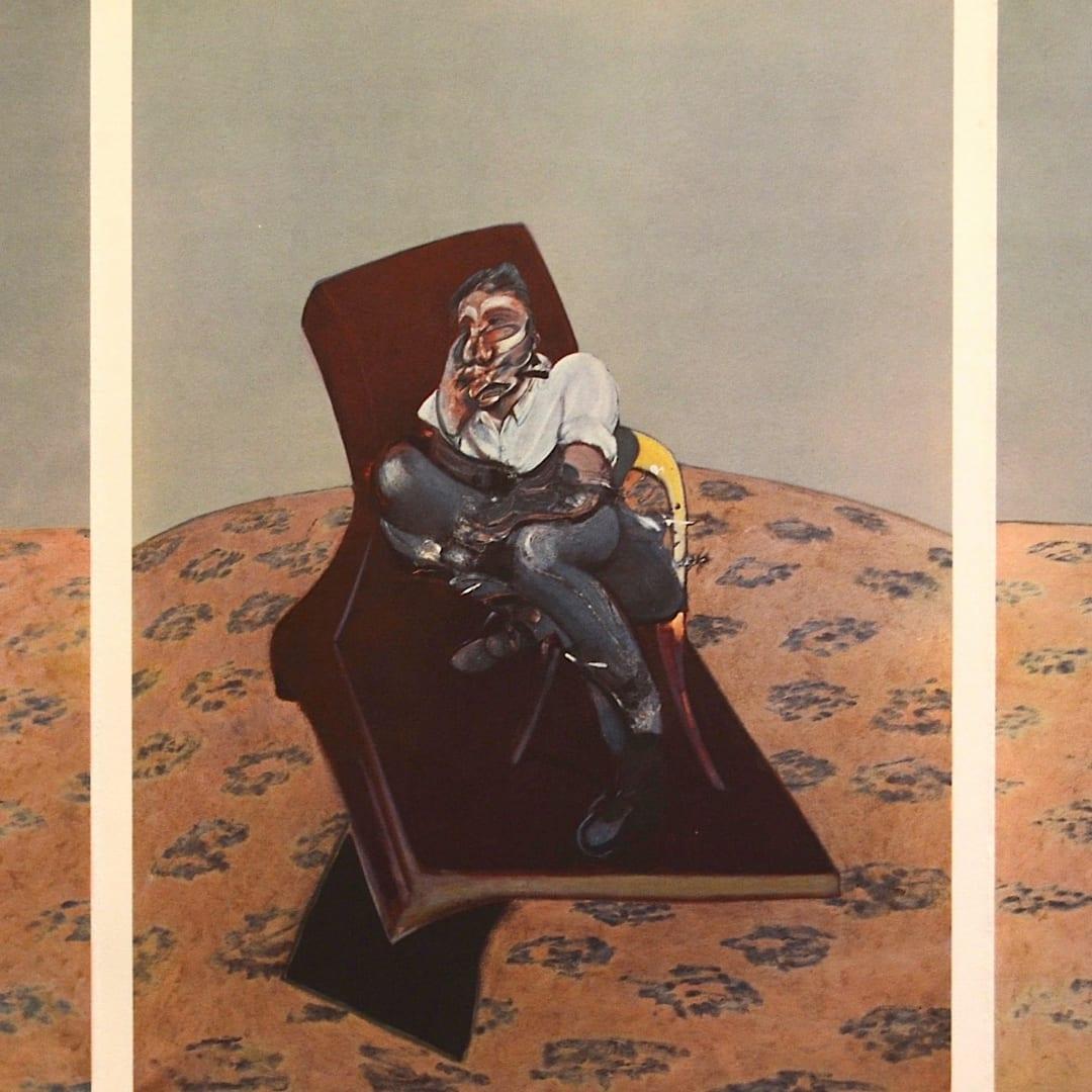 Francis Bacon, Portrait of Lucian Freud, 1966
