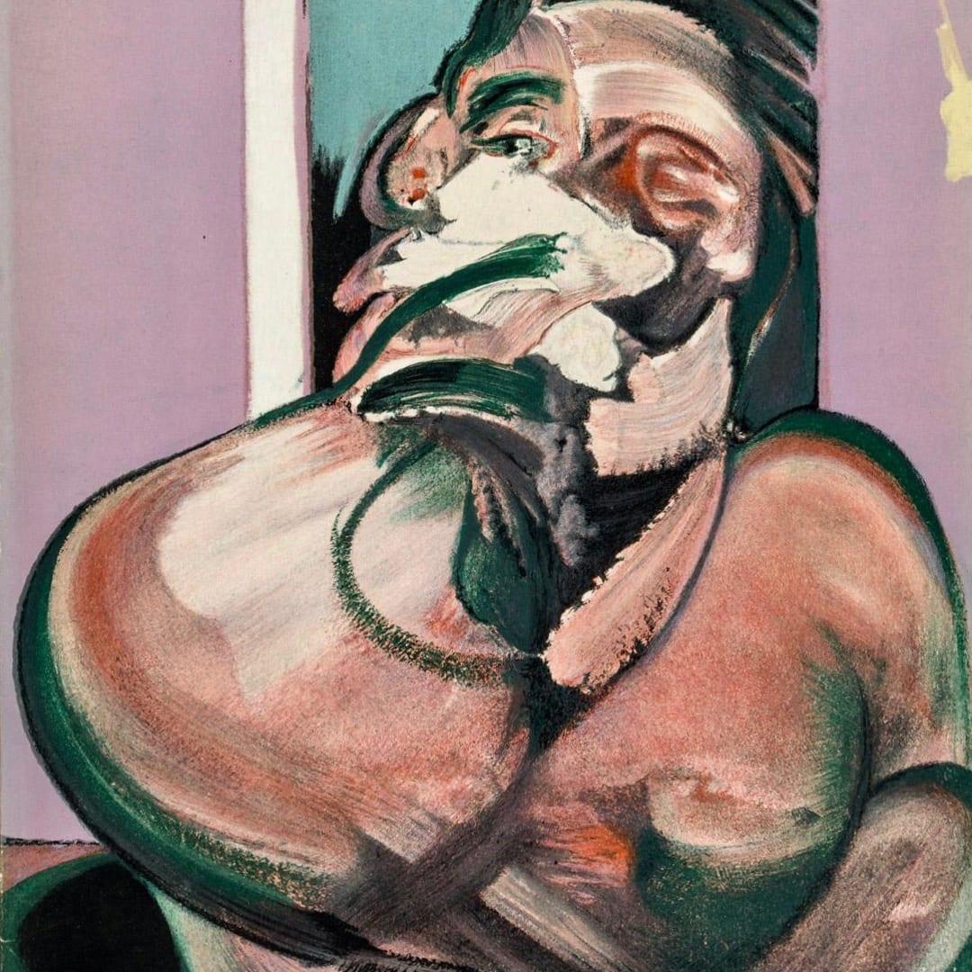 Francis Bacon, Cover from 'Derrière le Miroir - Francis Bacon', 1966