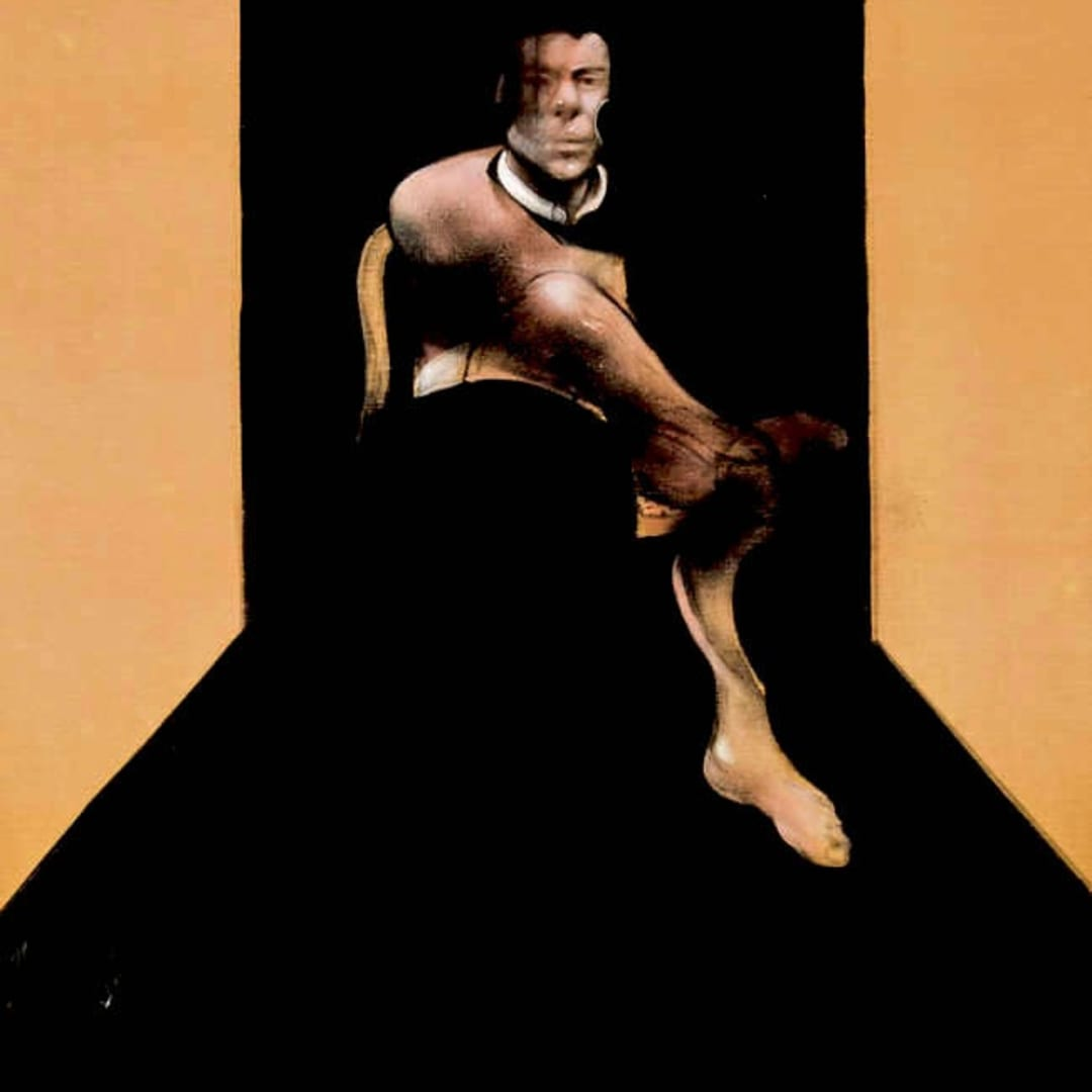 Francis Bacon, Central Union of Artists, Moscow Exhibition Poster, 1988