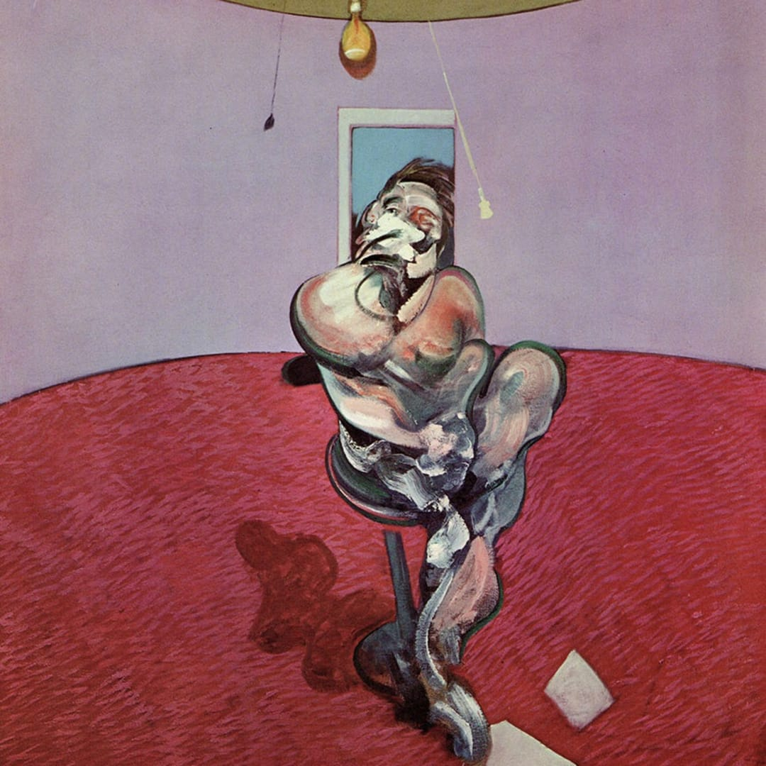 Francis Bacon, George Dyer Conversing, 1966