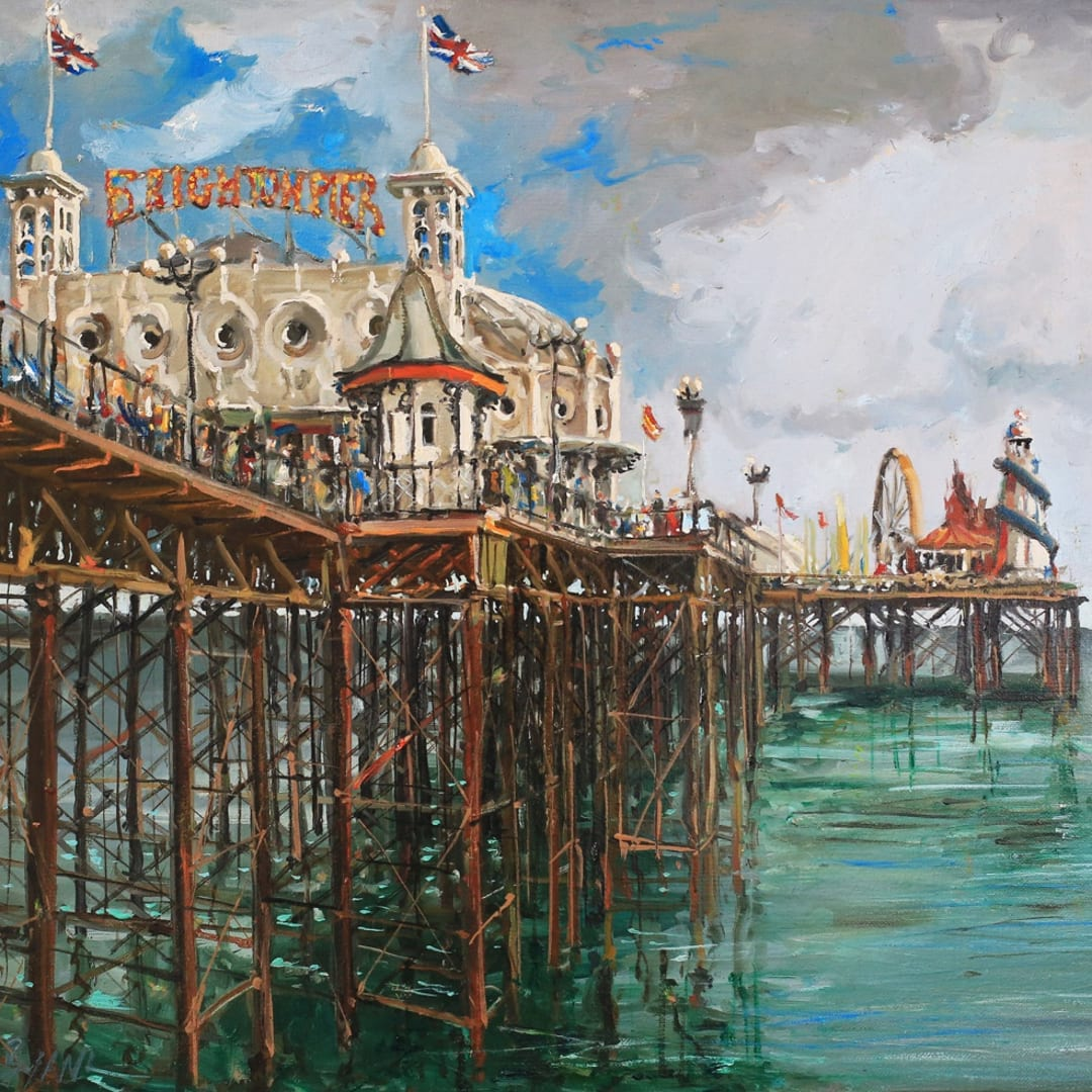 Gerard Byrne 'The Palace Pier'
